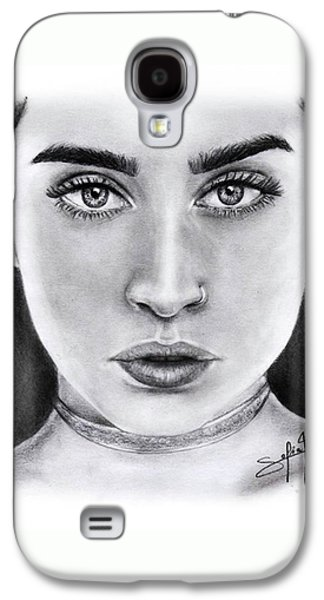 Lauren Jauregui Drawing By Sofia Furniel  Galaxy S4 Case