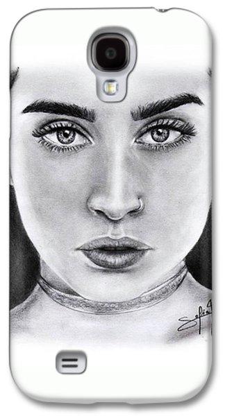 Lauren Jauregui Drawing By Sofia Furniel  Galaxy S4 Case