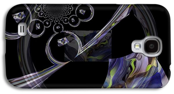 Delicate Parts Abstract Galaxy S4 Case