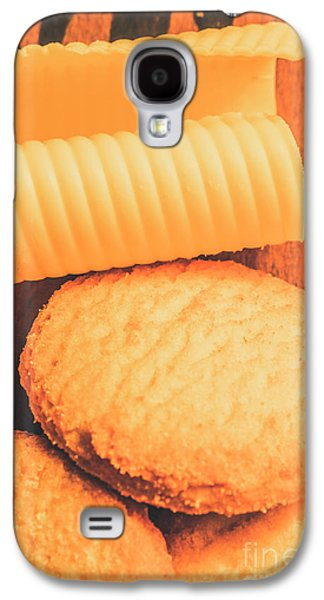 Delicious Cookies With Piece Of Butter Galaxy S4 Case by Jorgo Photography - Wall Art Gallery