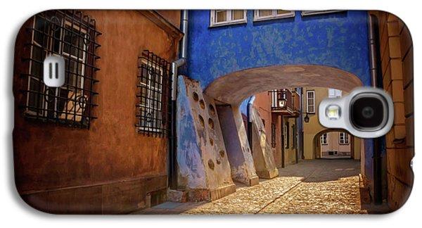 Delightful Dawna Street Warsaw  Galaxy S4 Case by Carol Japp