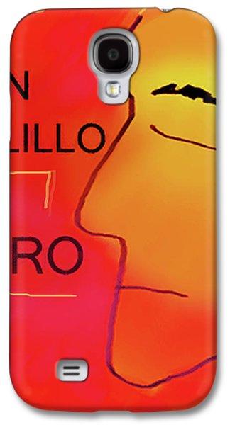 Delillo Zero K Poster  Galaxy S4 Case by Paul Sutcliffe
