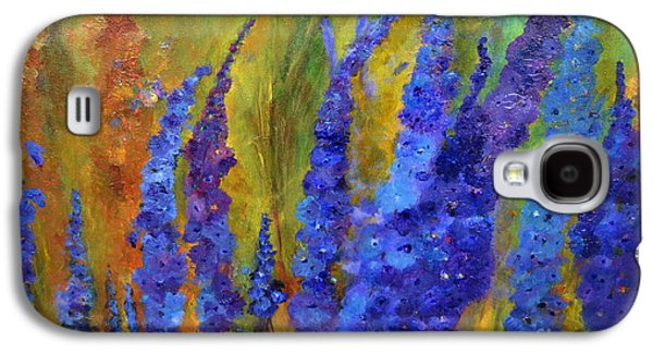 Delphiniums Galaxy S4 Case by Claire Bull