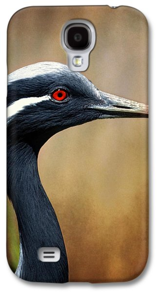 Demoiselle Crane Galaxy S4 Case