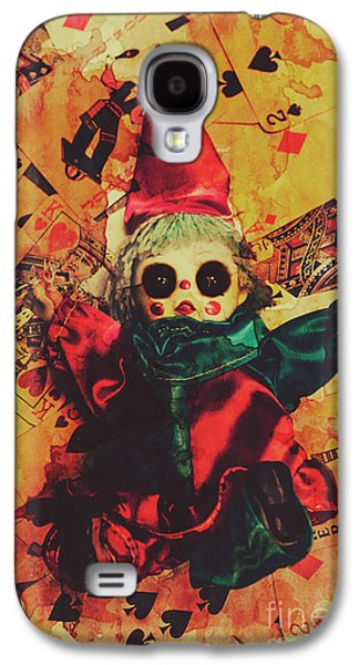 Demonic Possessed Joker Doll Galaxy S4 Case by Jorgo Photography - Wall Art Gallery