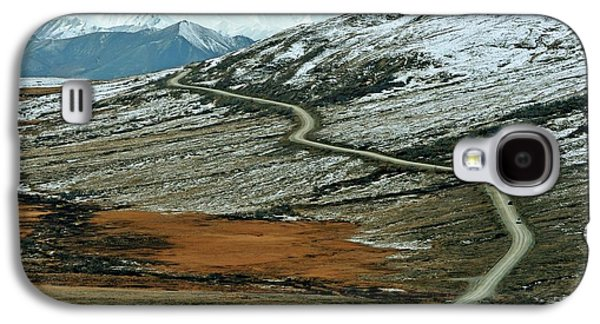 Denali Road 3 Galaxy S4 Case by Marty Koch