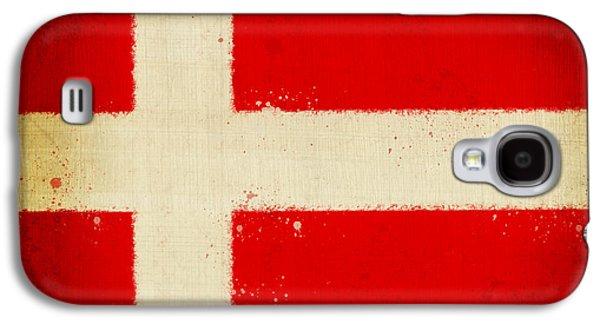 Denmark Flag Galaxy S4 Case by Setsiri Silapasuwanchai