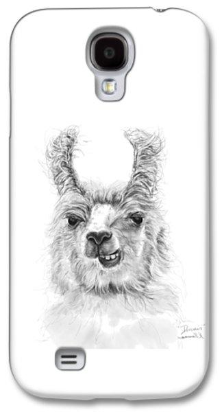 Llama Galaxy S4 Case - Dennis by K Llamas