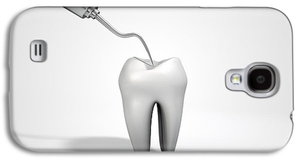 Dentists Probe Hook And Tooth Galaxy S4 Case