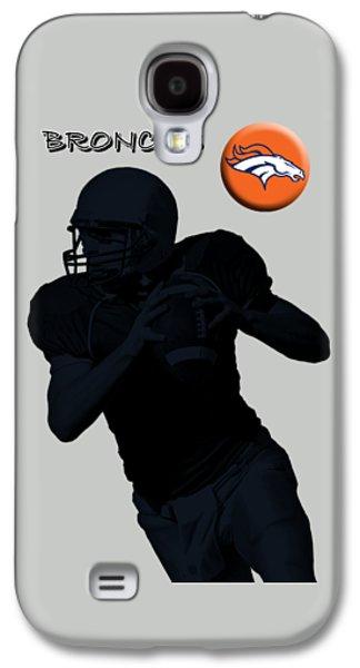 Denver Broncos Football Galaxy S4 Case by David Dehner