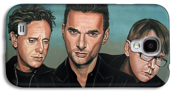 Depeche Mode Painting Galaxy S4 Case