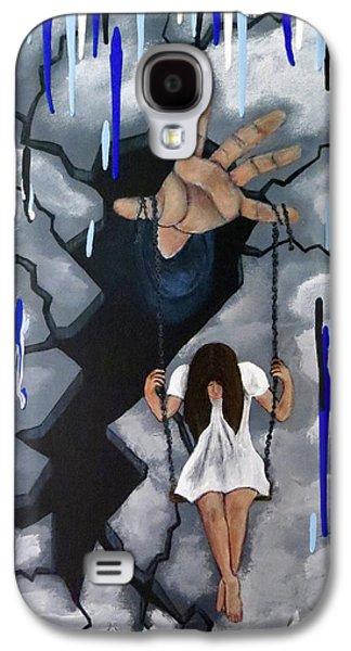 Depression Galaxy S4 Case by Teresa Wing