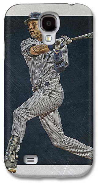 Derek Jeter New York Yankees Art 2 Galaxy S4 Case
