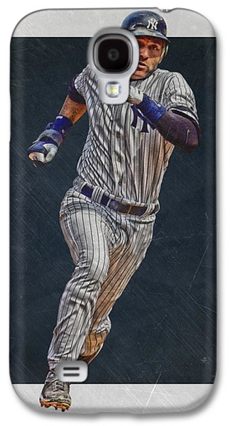 Derek Jeter New York Yankees Art 3 Galaxy S4 Case