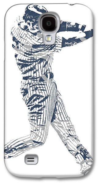 Derek Jeter New York Yankees Pixel Art 10 Galaxy S4 Case