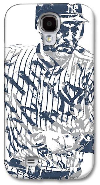 Derek Jeter New York Yankees Pixel Art 12 Galaxy S4 Case