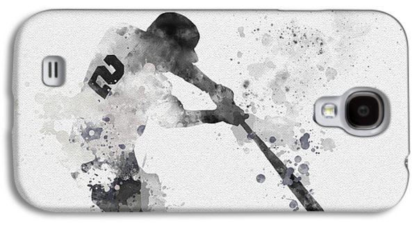 Derek Jeter Galaxy S4 Case by Rebecca Jenkins