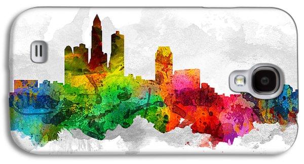 Des Moines Iowa Cityscape 12 Galaxy S4 Case