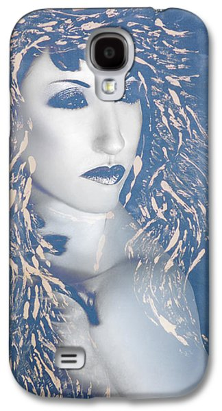 Desdemona Blue - Self Portrait Galaxy S4 Case