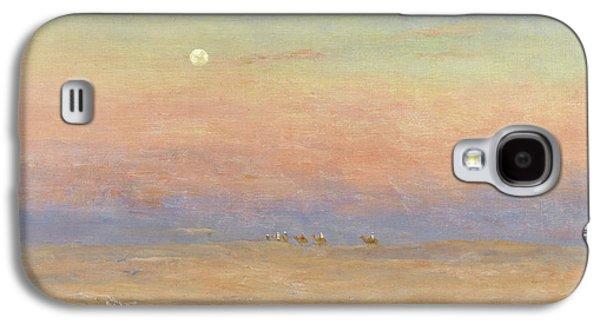 Desert Caravan Galaxy S4 Case