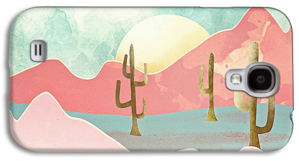 Landscapes Galaxy S4 Case - Desert Mountains by Spacefrog Designs