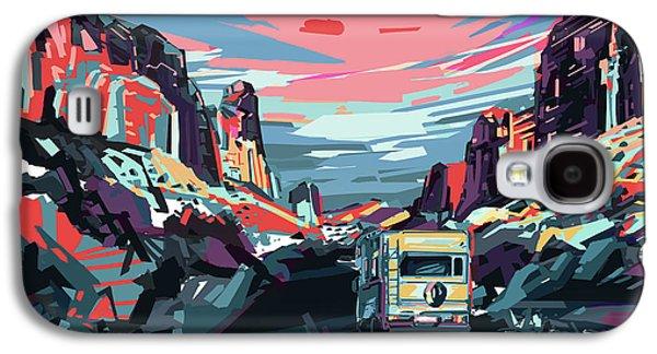 Desert Road Landscape Galaxy S4 Case