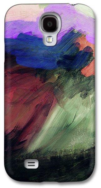 Desert Sunset Galaxy S4 Case - Desert Sunset 1- Art By Linda Woods by Linda Woods