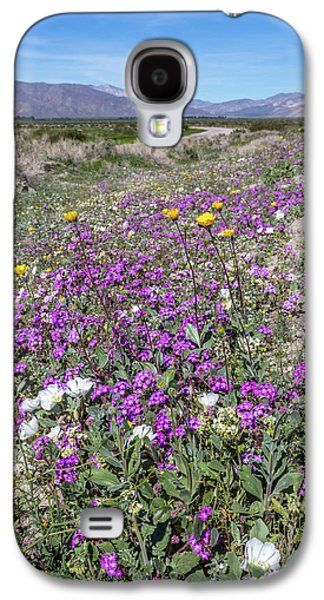 Desert Super Bloom Galaxy S4 Case by Peter Tellone