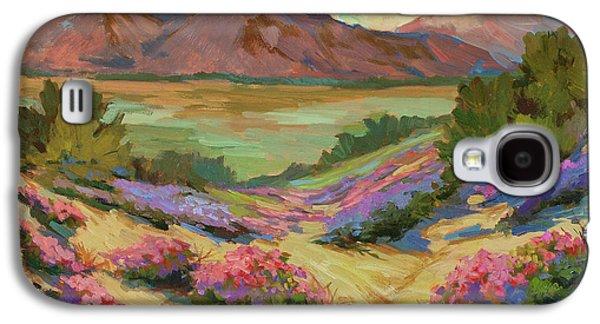 Desert Verbena At Borrego Springs Galaxy S4 Case by Diane McClary