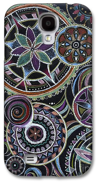 Design 217 F Galaxy S4 Case by Suzanne Schaefer