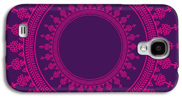 Design In Pink Galaxy S4 Case by Art Spectrum