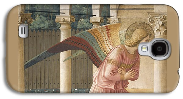 Detail From The Annunciation Showing Archangel Gabriel Galaxy S4 Case by Fra Angelico