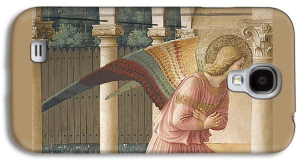 Detail From The Annunciation Showing Archangel Gabriel Galaxy S4 Case