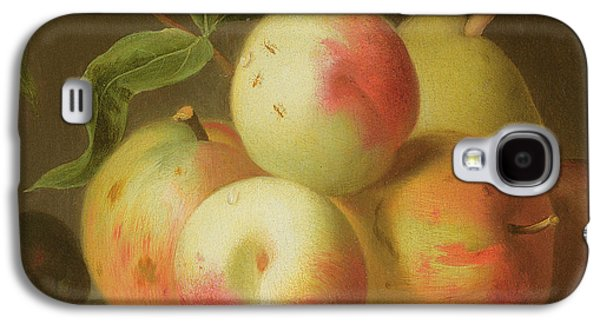 Detail Of Apples On A Shelf Galaxy S4 Case