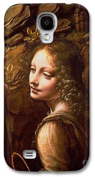 Detail Of The Angel From The Virgin Of The Rocks  Galaxy S4 Case by Leonardo Da Vinci