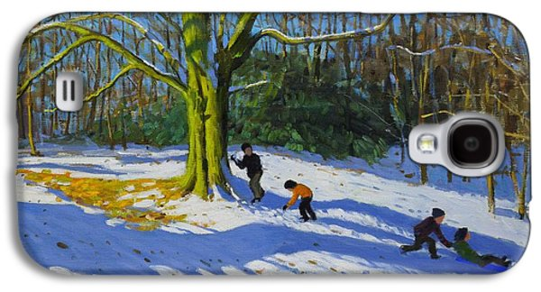 Detail Of Top Of Allestree Park Galaxy S4 Case by Andrew Macara