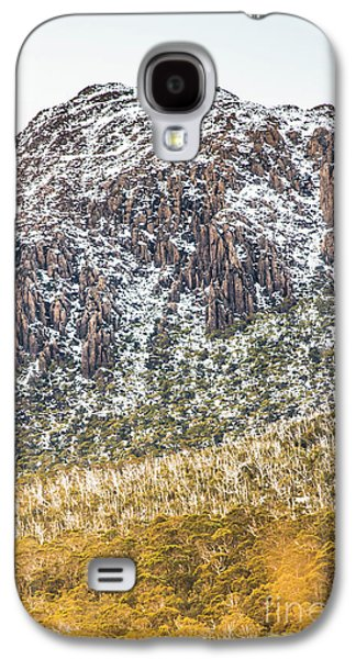 Detail On A Australian Snow Covered Mountain Galaxy S4 Case by Jorgo Photography - Wall Art Gallery