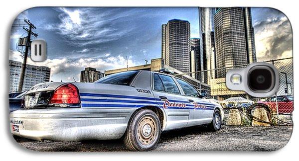 Detroit Police Galaxy S4 Case by Nicholas  Grunas