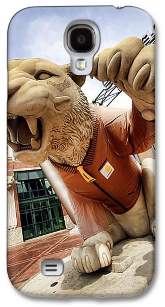 Bat Digital Art Galaxy S4 Cases - Detroit Tigers Tiger statue outside of Comerica Park Detroit Michigan Galaxy S4 Case by Gordon Dean II