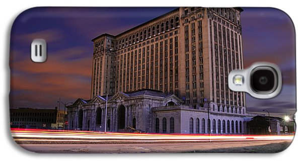 Detroit's Abandoned Michigan Central Station Galaxy S4 Case by Gordon Dean II