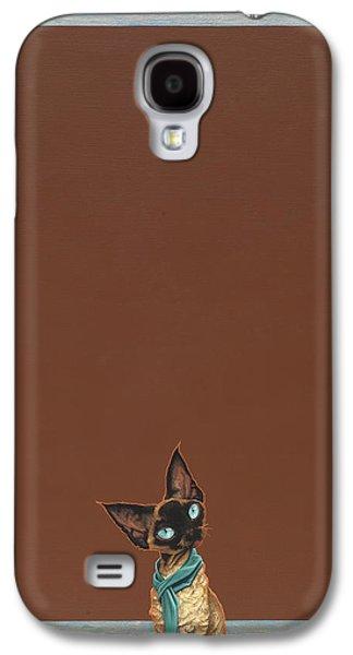 Devon Rex Galaxy S4 Case by Jasper Oostland