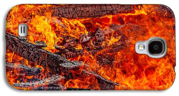 Devouring The Remains Galaxy S4 Case by Todd Klassy