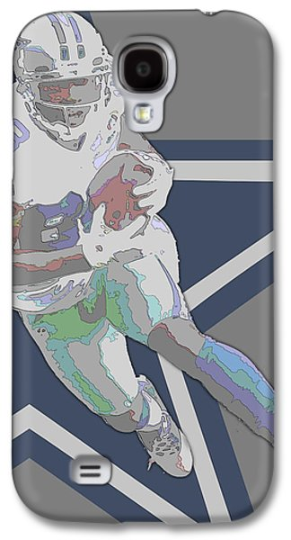 Dez Bryant Dallas Cowboys Contour Art Galaxy S4 Case by Joe Hamilton