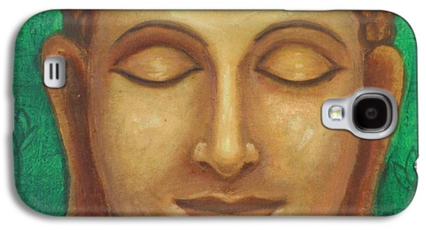 Dhyana Buddha Galaxy S4 Case by Nayna Tuli Fineart