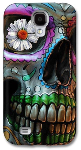 Dia De Los Muertos Galaxy S4 Case by Andre Koekemoer