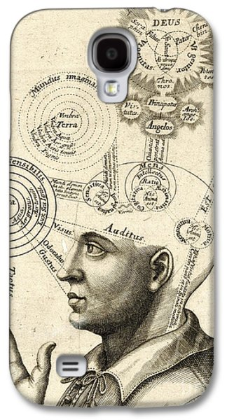 Diagram Of Human Thought And The Four Senses Galaxy S4 Case by European School