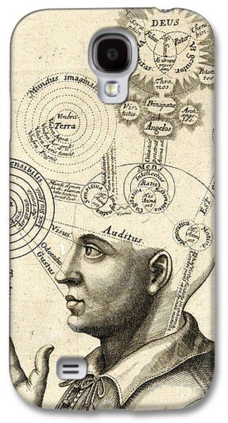 Diagram Of Human Thought And The Four Senses Galaxy S4 Case