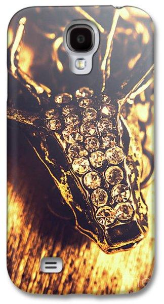 Diamond Encrusted Wildlife Bracelet Galaxy S4 Case