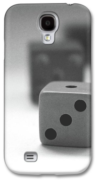 Dice 2- By Linda Woods Galaxy S4 Case by Linda Woods