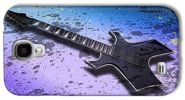 Digital-art E-guitar II Galaxy S4 Case by Melanie Viola